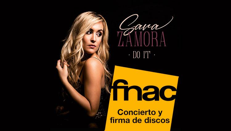 Presentación disco de Sara Zamora en FNAC Murcia