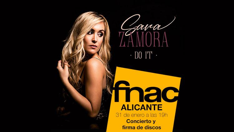 Presentación disco de Sara Zamora en FNAC Alicante