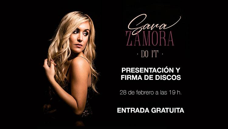 Sara Zamora Presentación en Cartagena