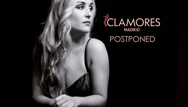 Sara Zamora in concert at the Sala Clamores. POSTPONED